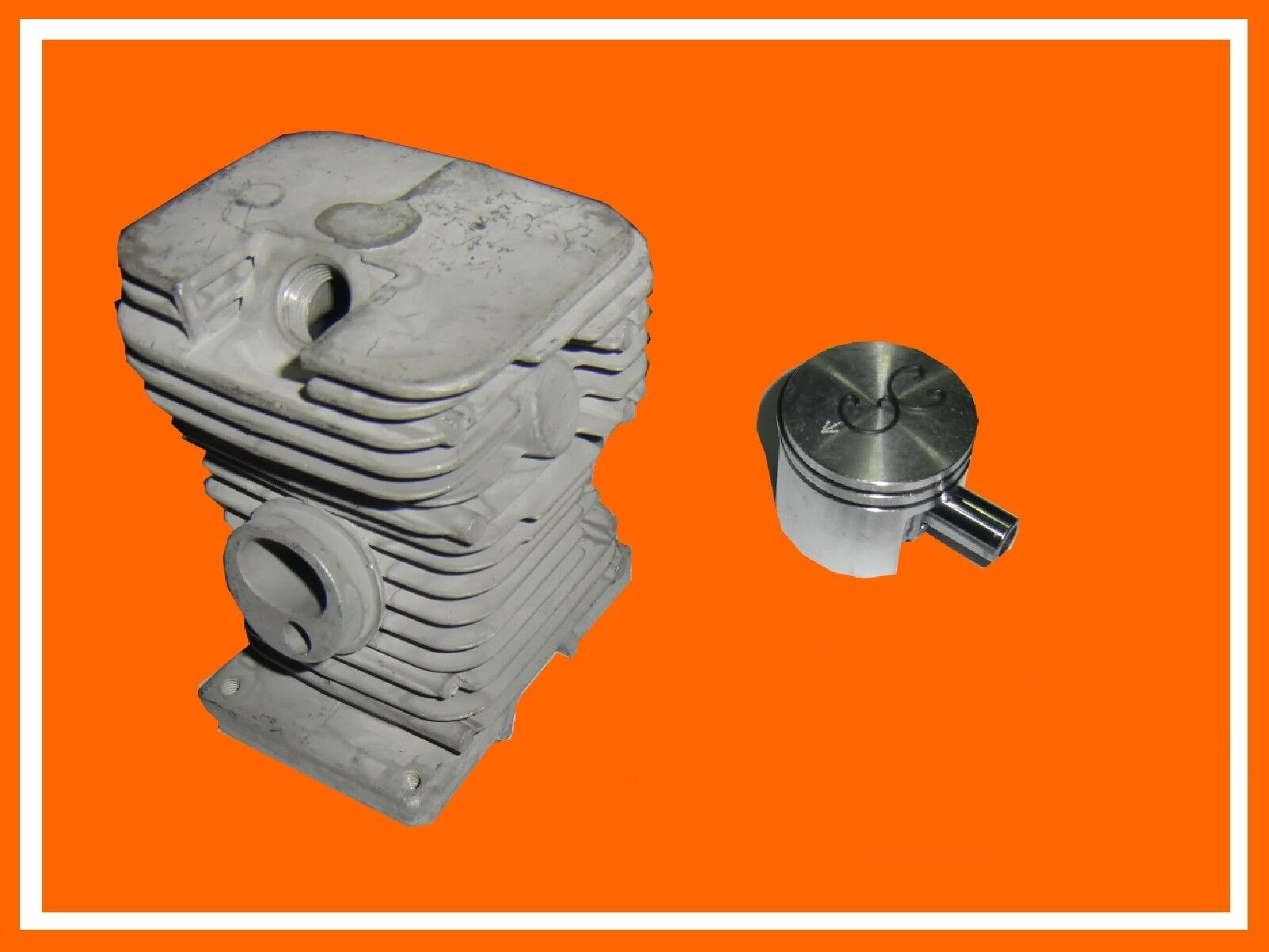 Zylinder Kolben passend für Stihl 018 MS170 MS 180 38mm Motor Kolbenringe