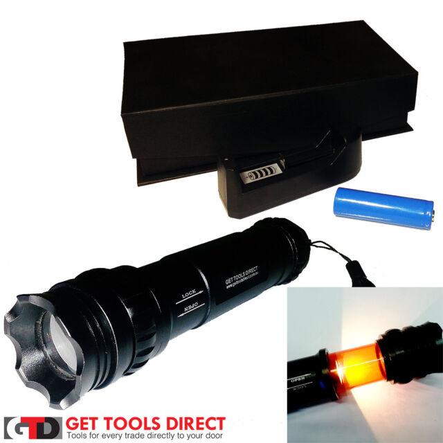 ProAmp 2400mAh Cree LED Rechargeable Torch Lantern Flashlight CX-995