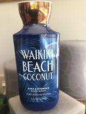 Dent Bath Body Works Waikiki Beach Coconut 8oz Lotion See Pics