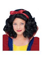 Snow White Wig Child Size Storybook Princess Halloween