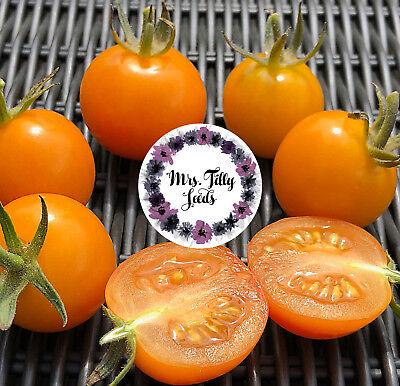 ‼️NEU Cocktailtomate MANDARINE Tomatensamen Saatgut 10 Samen Cherry süss früh