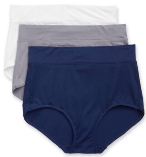 Warner's No Muffin Top Brief Panties Size 6//Medium Lot Of 6 NWT