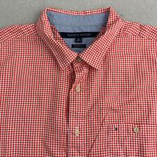 Tommy Hilfiger Mens Gene Dot Button Up Shirt