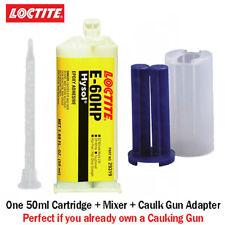 Loctite Ea Hysol E 60hp Toughened 60 Min Set Epoxy 50ml Caulk Gun Adapter