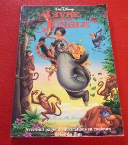 Details About Soft Cover French Book Le Livre De La Jungle Walt Disney Heritage Jeunesse