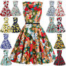Hearts & Roses Plus Size 50s Vintage Formal Retro Swing Prom Dance Pinup Dress