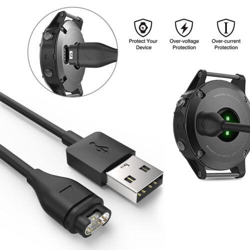 USB Charger Charging Cable Cord for Garmin Fenix 5//5S//5X Vivoactive 3 Vivosport
