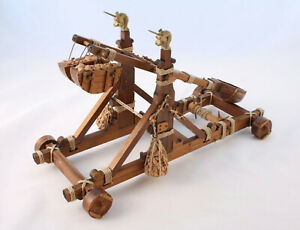 Completed-Mantua-Model-813-Norman-Catapult-1-12-Scale-fully-built-Medieval
