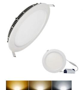 Downlight-Panel-LED-Empotral-Redondo-Circular-9W-3000K-4000K-6000K-ENVIO-URGENTE