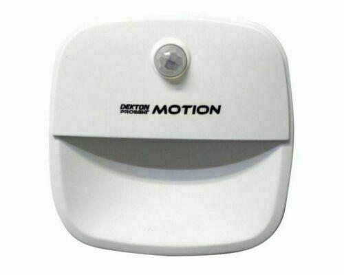 3 LED Motion Sensor Lights PIR Wireless Night Light Battery Cabinet Stair Lamp