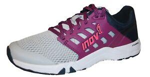 Inov8 Damen Alltrain 215 Trainingsschuhe Gym Fitness Schuhe Sneaker grau lila