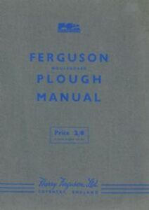 ferguson mouldboard plough manual how to plough instructions ebay rh ebay co uk  ferguson plough manual pdf