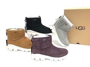 bfd7f73869f Details about UGG Australia Palomar Sneaker Waterproof Port Chestnut Black  Seal Boots 1095541