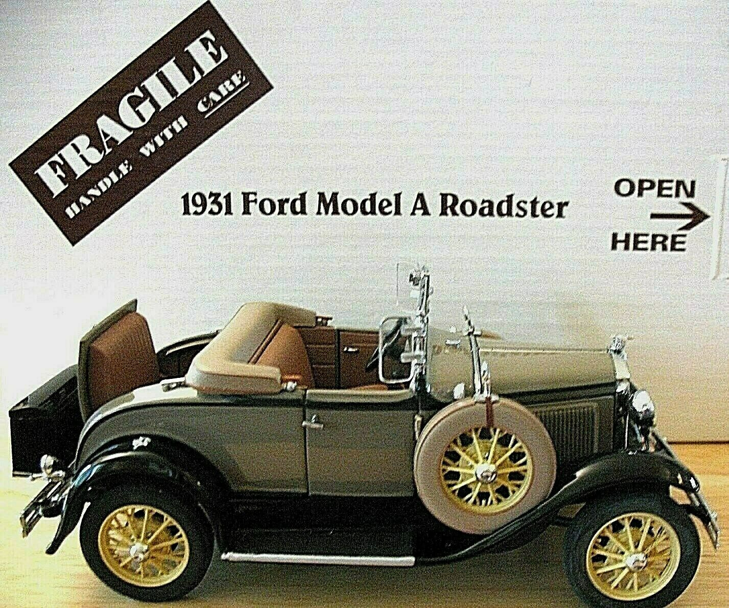 Danbury Mint 1 24 Escala 1931 Ford Modelo  a  Roadster