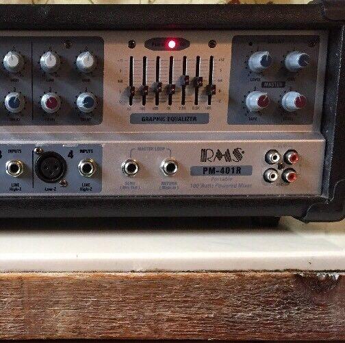 RMS 100 WATT PM401R