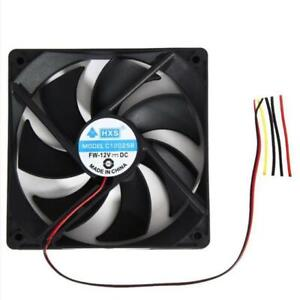 120mm-120x25mm-12V-4Pin-DC-Brushless-Luefter-PC-Computer-Case-Cooling-Fan-1800PRM