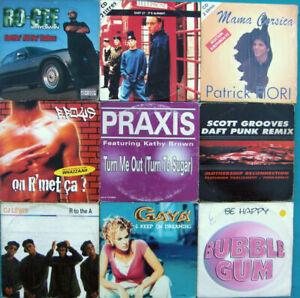 Pack-Von-9-CD-Single-Dance-D-039-Occasionlot-50