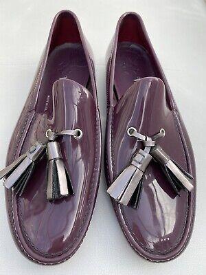 vivienne westwood burgundy shoes