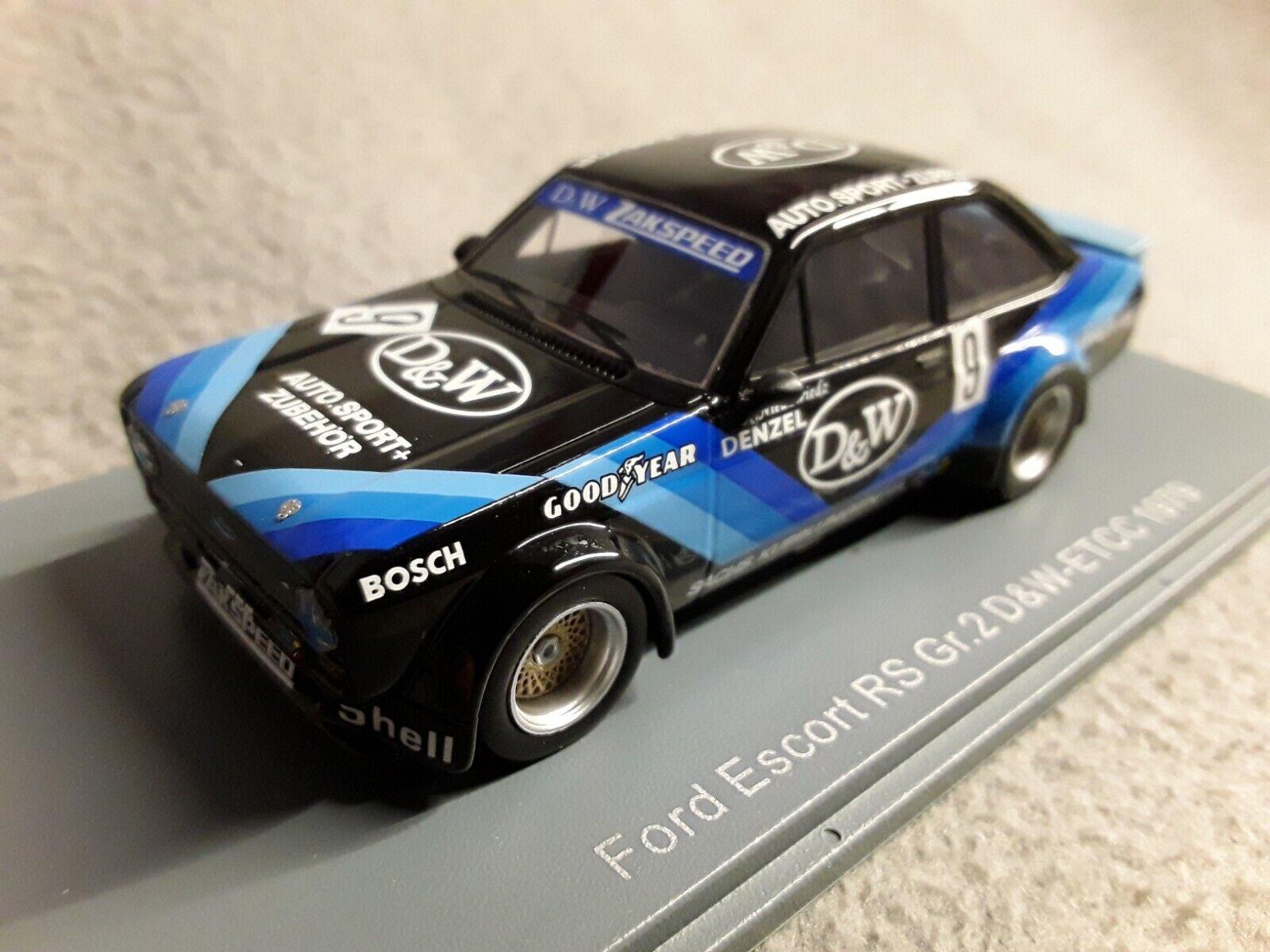 Ford Escort RS Gr. 2 D&W-ETCC 1979  D&W Denzel   Niedzwiedz  9  1 43 Neo 45232