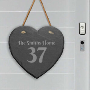 Personalised-Slate-Stone-Hanging-Heart-House-Number-Name-Door-Sign-Plaque