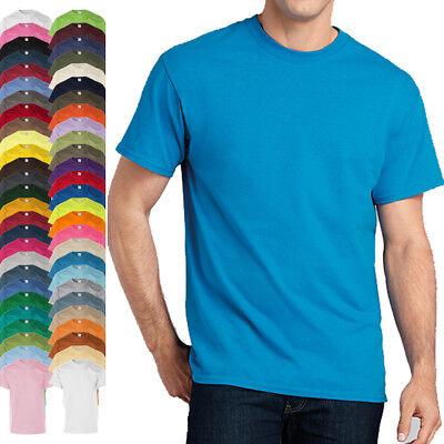 2019 Ultimo Disegno Gildan Ultra Cotton Basic T-shirt S-5xl 200 G/m² Tinta Unita A Maniche Corte Bianca-mostra Il Titolo Originale Essere Romanzo Nel Design