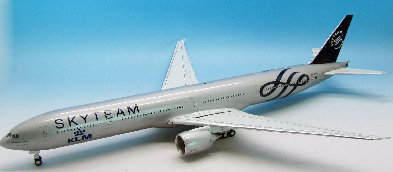 Jfox JF7773001 1/200 Boeing 777-306er Sky Squadra Klm Ph-Bvd con Supporto