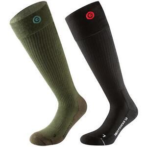 Lenz Beheizbare Socken Heat 3.0 Thermo Ski Knie Strümpfe Fußwärmer Winter Warm
