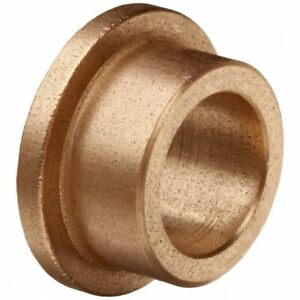 Oilite Bronze Bush Flanged 14mm bore x 20mm OD x 14mm long 26 x 3 flange