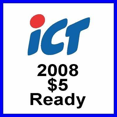 Software update for 2008 $5 bill eprom for JCM DBV 20 Bill Validator Acceptor