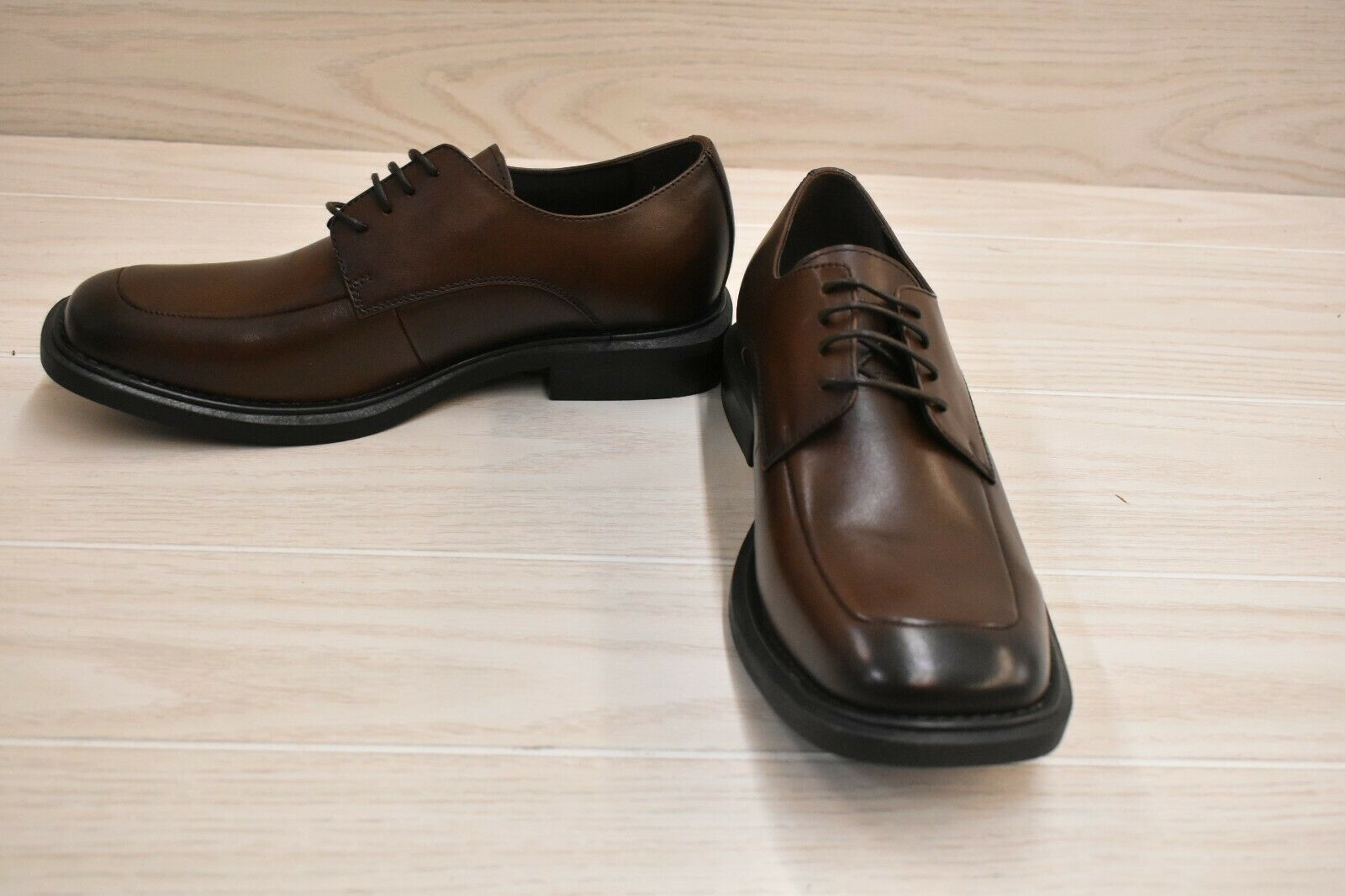 Kenneth Cole New York Merge Dress Oxford - Men's Size 8, Brown NEW