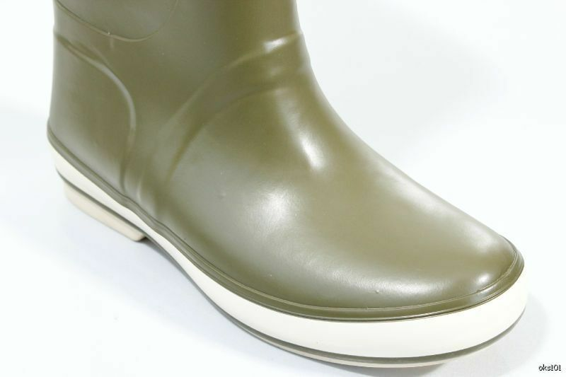 New SPERRY Top-Sider fleece-lined Rain Cloud olive green fleece-lined Top-Sider SNOW RAIN Stiefel 7f7561