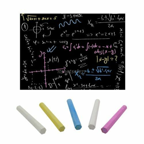 2000mmx450mm Large Size Self-Adhesive Blackboard//Chalkboard 5 FREE Chalks