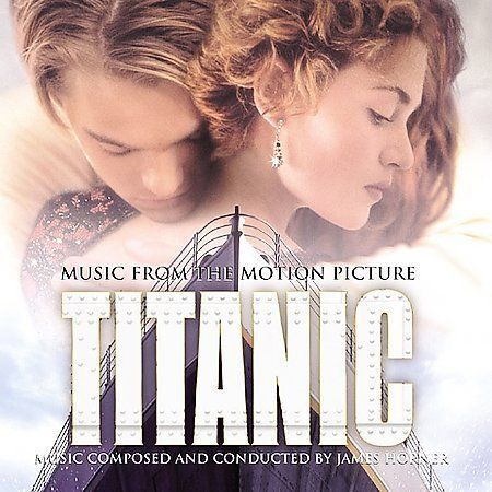 Titanic [Music from the Motion Picture] by James Horner (CD, Feb-2004, Sony Clas