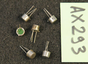 Lot de 6 x transistor 2N697 Thomson ( AX293 )