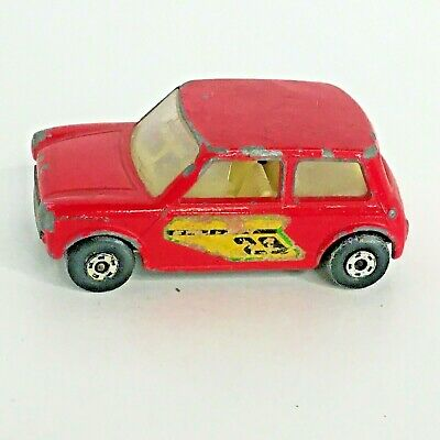 Lesney Racing Mini Red Toy Car Matchbox Superfast Series No 29 Uk Die Cast 1970 Ebay