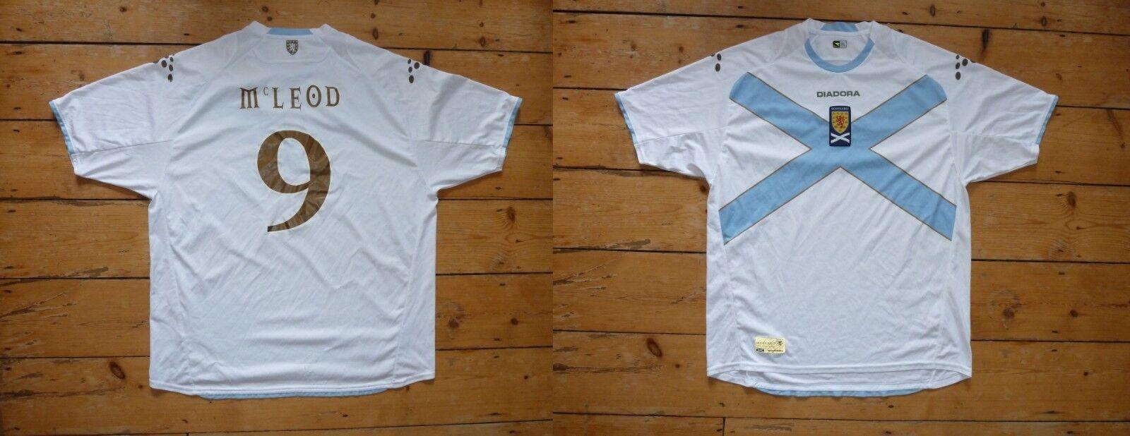 XXXL    Mcleod 15.2cm Scozia Calcio Camicia Scozzese Saltaire Maglia 2008  bajo precio del 40%