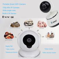 White Mini Hd Wifi Camera Baby Monitor Video Pt Night Intercom Ir Sound System