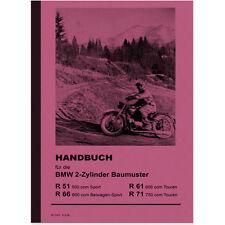 BMW R51 SS R61 R66 R71 1939 Betriebs- Bedienungsanleitung Handbuch R 51 61 66 71
