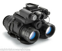 Nvd Bnvd-sg Single Gain Night Vision Dual Tube Binocular Gen. 3 Itt Pinnacle (p) on sale
