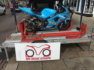 Motorbike Van Trailer Mount, Wheel Chock, Track Bike.