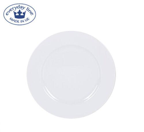 Set 1 FELIT WHITE EUROPEAN porcelain round dinner plates dessert side bread 19cm