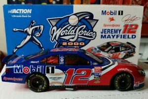 Action NASCAR World Series 2000 Car 12 Jeremy Mayfield 1:24 Scale die cast Mobil