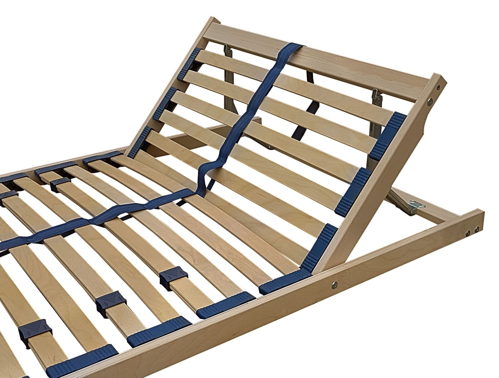 Lattenrost Federholzrahmen Auflage 90x190 Kopfteil verstellbar 70.32-09-190 FV