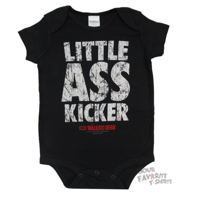 The Walking Dead Little Ass Kicker Licensed Baby Infant Snapsuit
