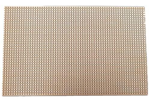 RM 2,54 Kupferbahnen Lötplatine Streifenraster Platine 160 x 100 mm