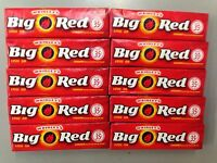 BIG RED Cinnamon Chewing Gum from Wrigley's 10x5 Packs=50CT American Candy