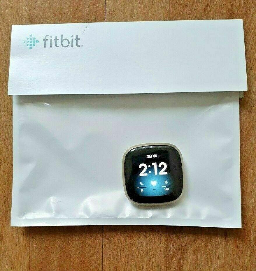 Fitbit Sense Pebble Fitness Tracker | Soft Gold | Free delivery | New delivery fitbit fitness free gold new pebble sense soft tracker