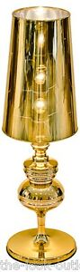 PHANTOM-TABLE-LAMP-BEDSIDE-IN-GOLD-VERY-UNUSUAL-Height-81cm-EX-DISPLAY-MODEL