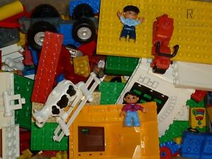 LEGO-Duplo-SUPER-SET-0-5-kg-500g-Bausteine-Tier-Figur-Fahrzeug-1-2-kg-Ville-TOP