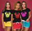 Ladies-t-shirt-disney-inspired-Minnie-mouse-T-shirt-various-GLITTER-colours thumbnail 3